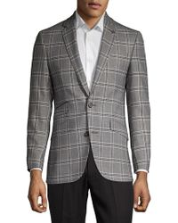 Ted Baker - Plaid Wool Sportcoat - Lyst