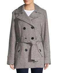 Jones New York - Classic Hooded Jacket - Lyst