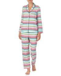 Kate Spade - Graphic Print Pajama Set - Lyst
