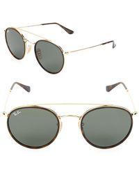 bbd685da704 Ray-Ban Evolve 58mm Polarized Aviator Sunglasses in Metallic for Men ...