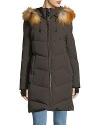 Rudsak - Down-filled Fox Fur Puffer Coat - Lyst
