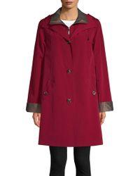 Gallery - Three-quarter Length A-line Raincoat - Lyst