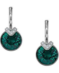 Swarovski - Bella 2 Crystal & Crystal Pierced Earrings - Lyst