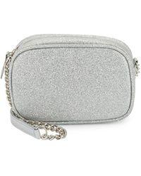 Jessica Mcclintock - Top Zip Shimmering Crossbody Bag - Lyst