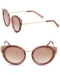 Sam Edelman - 48mm Cat Eye Sunglasses - Lyst