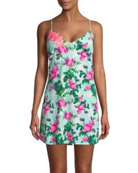 Betsey Johnson - Floral Sleeveless Chemise - Lyst
