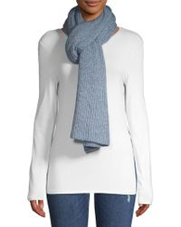 Lord & Taylor - Long Knit Scarf - Lyst