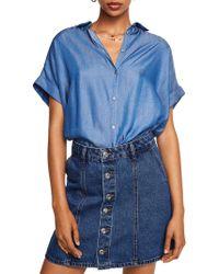 Mango - Camisa Parisian Button-down Shirt - Lyst