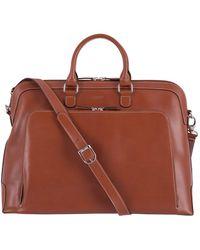 Lodis - Audrey Rfid Brera Leather Briefcase - Lyst