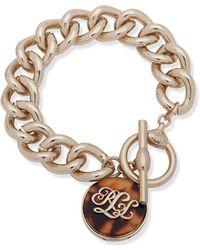 Ralph Lauren - Logo Link Bracelet - Lyst