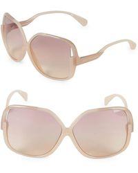 Diane von Furstenberg - Jayda 62mm Oversized Square Sunglasses - Lyst