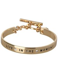 BCBGeneration - Basic Live In The Moment Crystal Bracelet - Lyst
