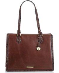 Brahmin - Medium Camille Leather Tote - Lyst