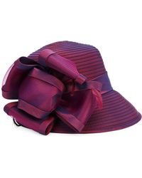 Giovannio - Bow Cloche Hat - Lyst