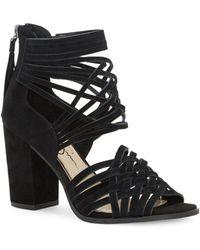 Jessica Simpson | Reilynn Tassel Suede Sandals | Lyst