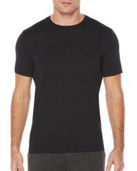 Perry Ellis - Short Sleeve Solid Crew Shirt - Lyst