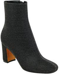 Marc Fisher - Grazi2 Textile Block Heel Bootie - Lyst