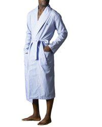 Polo Ralph Lauren Cotton Striped Robe
