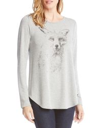 Karen Kane - Illustrated Fox Jumper - Lyst