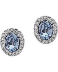 Givenchy - Crystal-embellished Stud Earrings - Lyst