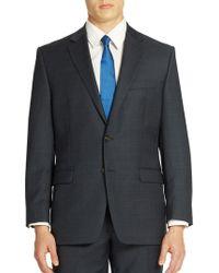 Lauren by Ralph Lauren - Classic-fit Check Ultra-flex Plaid Wool Suit Separate Jacket - Lyst