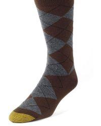 Goldtoe - Argyle Socks - Lyst