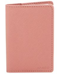 Mango - P Lole Faux Leather Cardholder - Lyst