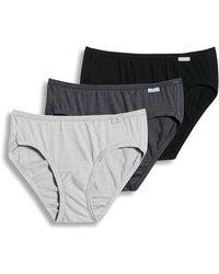 Jockey - Elance Bikini - 3 Pack - Lyst