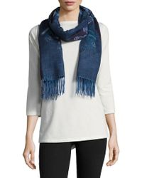 Lord & Taylor - Paisley Scarf - Lyst