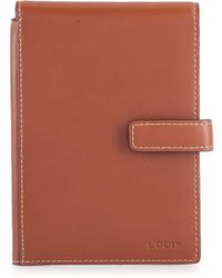 Lodis - Audrey Rfid Ticket Flap Italian Leather Passport Wallet - Lyst