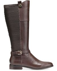 Cole Haan - Galina Leather Knee High Boots - Lyst