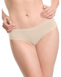 Natori - Bliss Cotton Brief - Lyst
