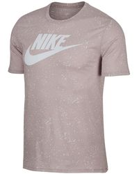 Nike - Speckled Short Sleeve Tee - Lyst