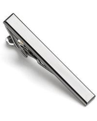 Kenneth Cole Reaction - Hematite Tie Clip - Lyst