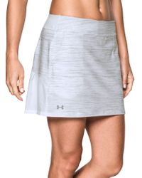 Under Armour - Links Skort - Lyst