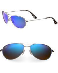 Maui Jim - Baby Beach Aviator Polarized Sunglasses - Lyst