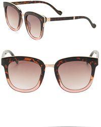 Jessica Simpson - 55mm Square Sunglasses - Lyst