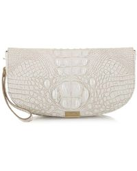 Brahmin - Sandrine Melbourne Leather Clutch - Lyst