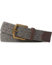 Polo Ralph Lauren - Braided Stretch Cotton Belt - Lyst