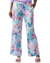 Tommy Bahama - Valentina Villa Easy Wide-leg Linen Trousers - Lyst