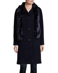 Jones New York - Faux Fur Stole Jacket - Lyst