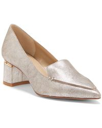 Enzo Angiolini - Debbie Suede Court Shoes - Lyst