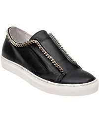 Andre Assous - Danica Leather Slip-on Trainers - Lyst