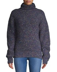 Blank NYC - Multicolored Turtleneck Sweater - Lyst