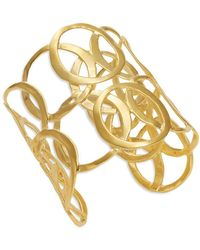 Kenneth Jay Lane - Scroll Cuff Bracelet - Lyst