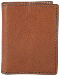 Fossil - Richard Leather Bi-fold Card Case - Lyst