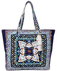 Steve Madden - Colleen Aztec-print Canvas Tote - Lyst