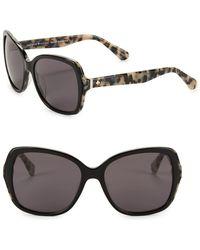 Kate Spade - 56mm Karalyn Oversized Sunglasses - Lyst