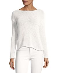 Lord & Taylor - Classic Long-sleeve Pullover - Lyst