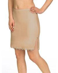 Jockey - No Panty Line Promise Lace Half Slip - Lyst